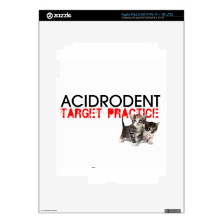 Official Acidrodent Merchandise iPad 3 Decal