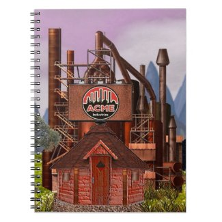 Official Acme Industries Notebook