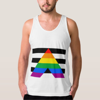 OFFICIAL ALLY FLAG AMERICAN APPAREL FINE JERSEY TANK TOP