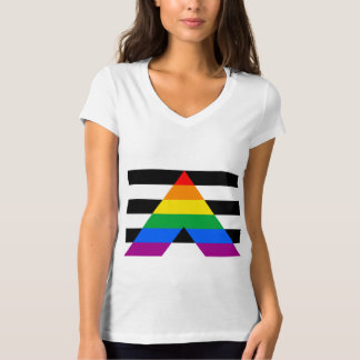 OFFICIAL ALLY FLAG T SHIRT
