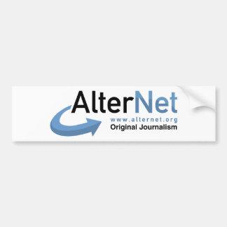 Official AlterNet Bumper Sticker Car Bumper Sticker