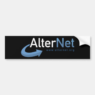 Official AlterNet Bumper Sticker