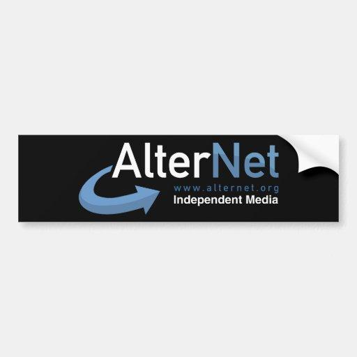Official AlterNet Bumper Sticker