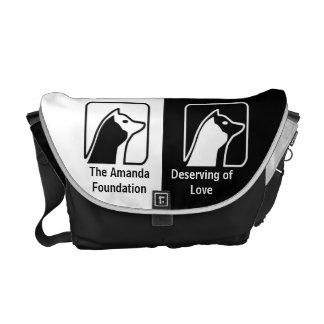 Official Amanda Foundation Logo Commuter Bag