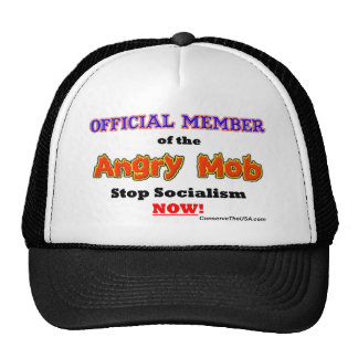 """""""Official Angry Mob Member"""" Trucker Hat"""