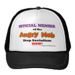 """Official Angry Mob Member"" Mesh Hats"