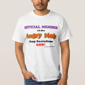 """""""Official Angry Mob Member"""" T-shirt"""