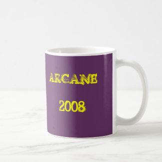 "official arcane merch mug ""2008"""