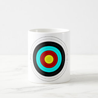 OFFICIAL ARCHERY TARGET ~ COFFEE MUG
