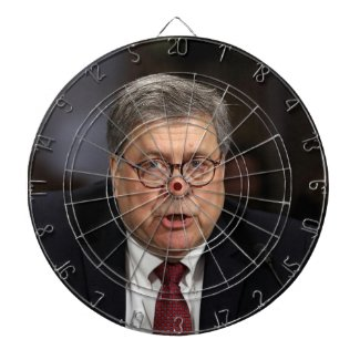 official attorney general bill barr dart board