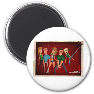 Official B2 Art 2 Inch Round Magnet