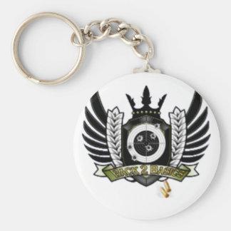 Official B2B COD Merchandise Basic Round Button Keychain