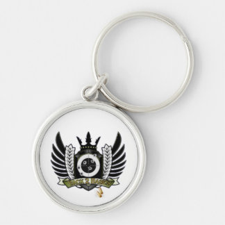 Official B2B COD Merchandise Silver-Colored Round Keychain