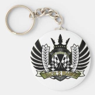 Official B2B F1 merchandise Basic Round Button Keychain