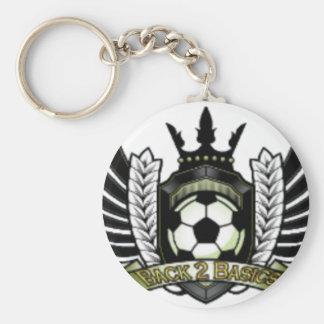 Official B2B Merchandise Basic Round Button Keychain