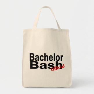 Official Bachelor Bash Tote Bags