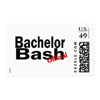 Official Bachelor Bash Postage