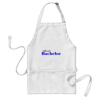 Official Bachelor (Blu) Adult Apron