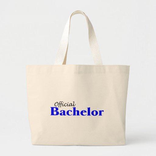 Official Bachelor (Blu) Jumbo Tote Bag