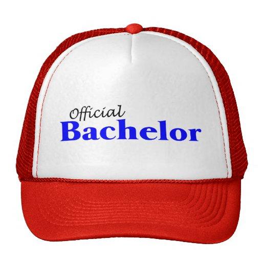 Official Bachelor (Blu) Mesh Hat