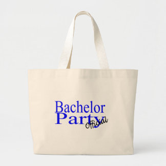 Official Bachelor Party Tote Bag