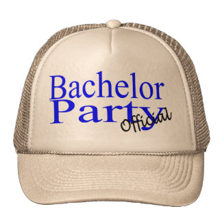 Official Bachelor Party Mesh Hats