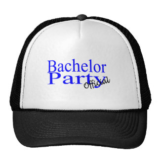 Official Bachelor Party Trucker Hat