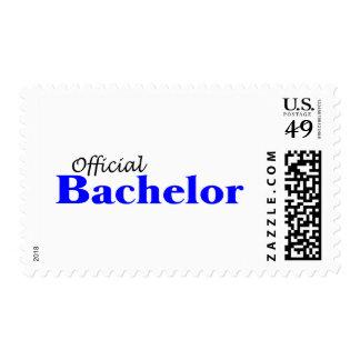 Official Bachelor Postage Stamp