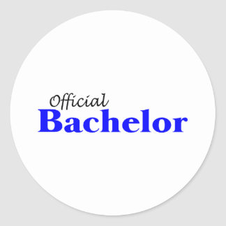 Official Bachelor Round Stickers