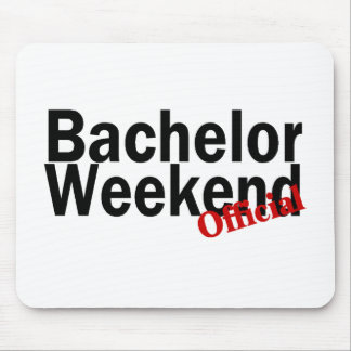 Official Bachelor Weekend Mouse Pad
