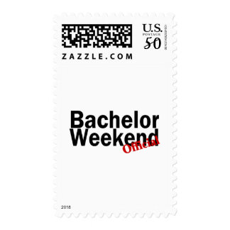 Official Bachelor Weekend Postage