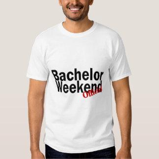 Official Bachelor Weekend T Shirt