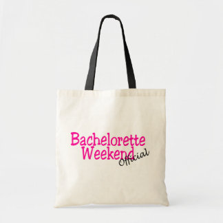 Official Bachelorette Weekend Budget Tote Bag