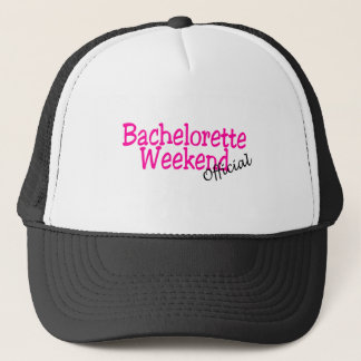 Official Bachelorette Weekend Trucker Hat