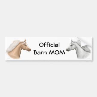Official Barn Mom Bumper Sticker