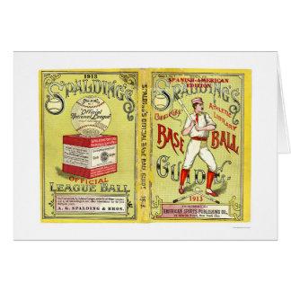 Official Baseball Guide 1913 Card