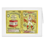 Official Baseball Guide 1913 Greeting Card