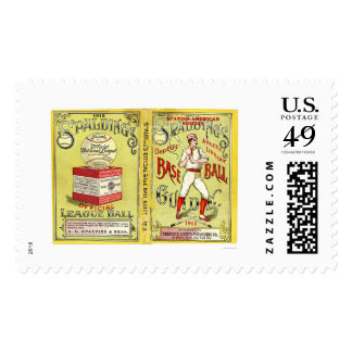Official Baseball Guide 1913 Stamp