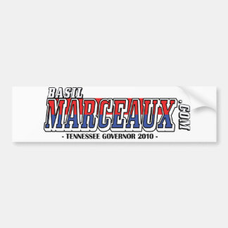 Official Basil Marceauc.com 2010 Bumper Sticker