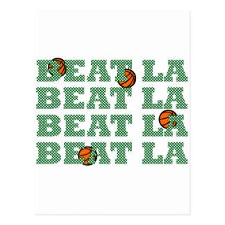 OFFICIAL BEAT LA Mesh-Look BASKETBALL GEAR Postcard