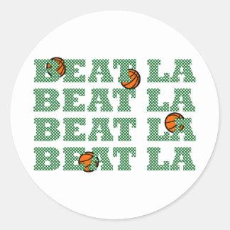 OFFICIAL BEAT LA Mesh-Look BASKETBALL GEAR Stickers