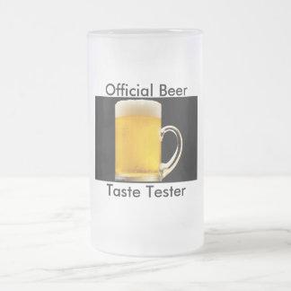 Official Beer Taste Tester Ale Mug Brew