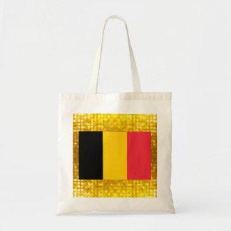 Official Belgian Flag Budget Tote Bag