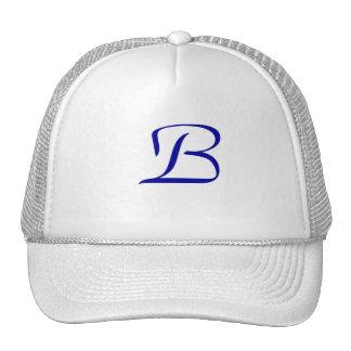 Official Belinda baseball cap Blue Trucker Hat