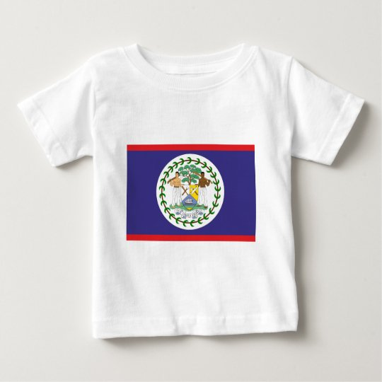 Official belize flag baby T-Shirt