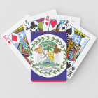 official belize flag bicycle playing cards