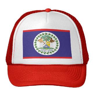 Official belize flag trucker hat