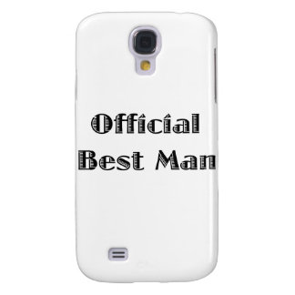 Official Best Man Samsung Galaxy S4 Covers
