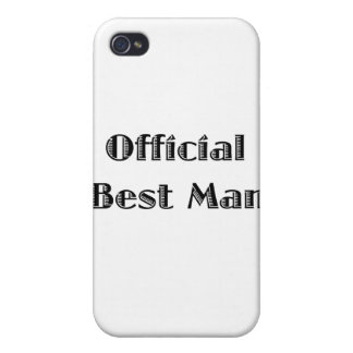Official Best Man Cases For iPhone 4
