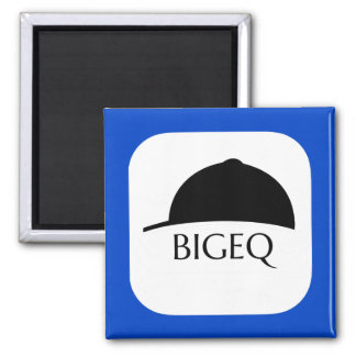 Official BIGEQ Square Magnet